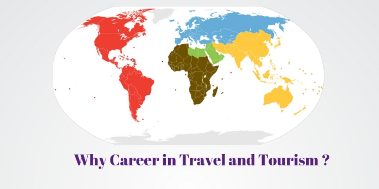 Large why career in travel and tourism