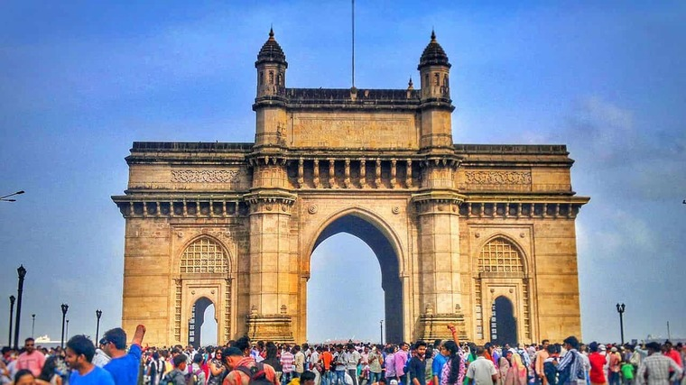 Large gateway of india