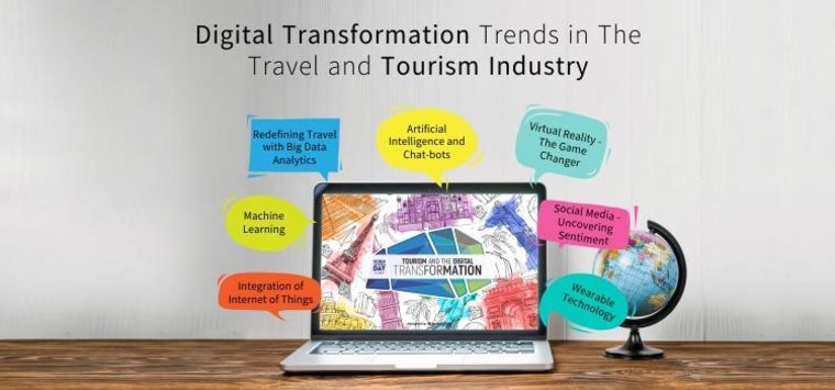 Large digital transformation trends in the travel and tourism industry post travind