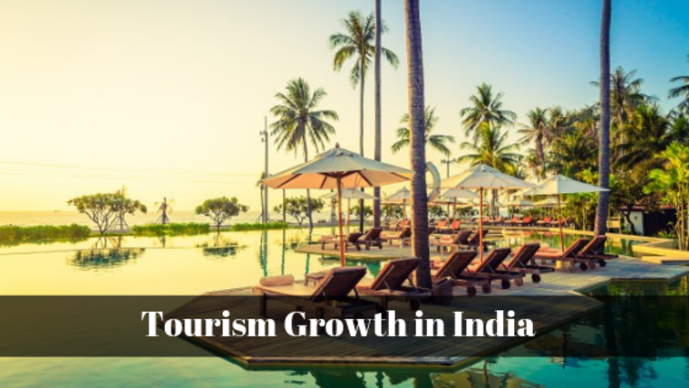 Large tourism growth in india