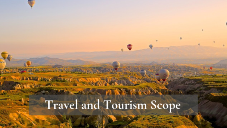 Large travel and tourism scope