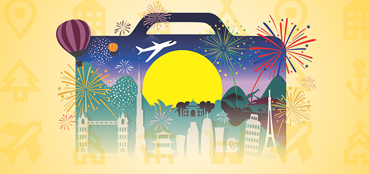 Large travel industry