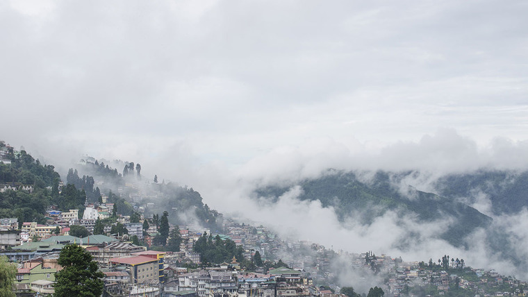 Large darjeeling view from chowrasta